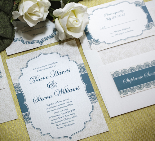 Addressed Wedding Invitations: First Impressions Count: A Well-addressed Wedding