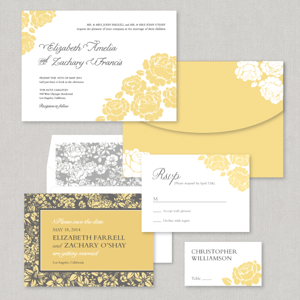Wedding Invitations In Person At Kleinfeld Paper